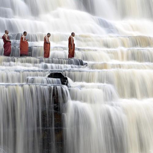 исцеление водопады